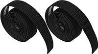 cersalt Racefietshandvatbanden, lichtgewicht sterke stuurwikkels met stuurpluggen voor fietsen(zwart)