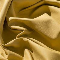 IPEA Uitsparingen van echt leer, in verschillende kleuren en maten, gehamerd oppervlak, delen van leer, geel oker, 30 x 30 cm
