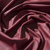 IPEA Uitsparingen van echt leer in verschillende kleuren en maten, gehamerd oppervlak, delen van leer, rood bloed, 30 x 30 cm