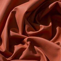IPEA Uitsparingen van echt leer in verschillende kleuren en maten, gehamerd oppervlak, delen van leer, oranje, 30 x 30 cm