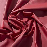 IPEA Uitsparingen van echt leer in verschillende kleuren en maten, gehamerd oppervlak, delen van leer, rood, 30 x 30 cm
