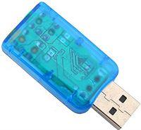 Wosune USB-geluidskaart. externe luidspreker audioadapter geluidskaart. Metalen zakelijk dagelijks gebruik professioneel gebruik voor thuisgebruik