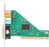 Wivarra PCI Sound Card 4.1 Channel Computer Desktop Built-in Sound Card Internal Audio Karte Stereo Surround CMI8738