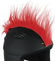 Red Hot Ski Helm Cover Punk, Rood, 3132