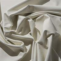 IPEA Uitsparingen van echt leer in verschillende kleuren en maten, gehamerd oppervlak, stukken van leer, melkwit, 30 x 30 cm