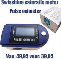 Pulse Oximeter Swissblue Swiss Blue - Saturatiemeter-bloeddruk