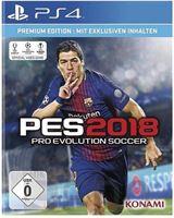 Konami Sony Playstation 4 PS4 Spiel PES 2018 (USK 0)
