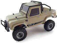 AMEWI 22368 AMXRock Crawler AM24 4WD RTR, mosterd kleuren 1:24