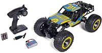 Carson Giant Crawlee 500404127 RC-crawler voor offroad en water, 4 x 4, tot 20 km/u snel, 100% RTR, op afstand bestuurd, waterdicht, monsterbanden