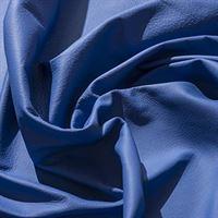 IPEA Uitsparingen van echt leer in verschillende kleuren en maten, gehamerd oppervlak, delen van leer, blauw klassiek, 30 x 30 cm