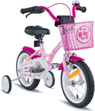 Prometheus Bicycles ® HAWK Kinderfahrrad 12   roze-wit