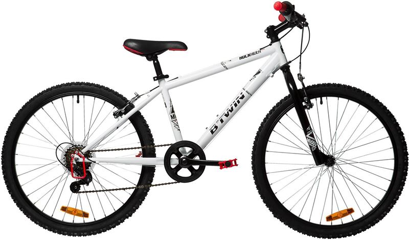B'TWIN Kindermountainbike 24 inch  8-12 jaar  Rockrider 100
