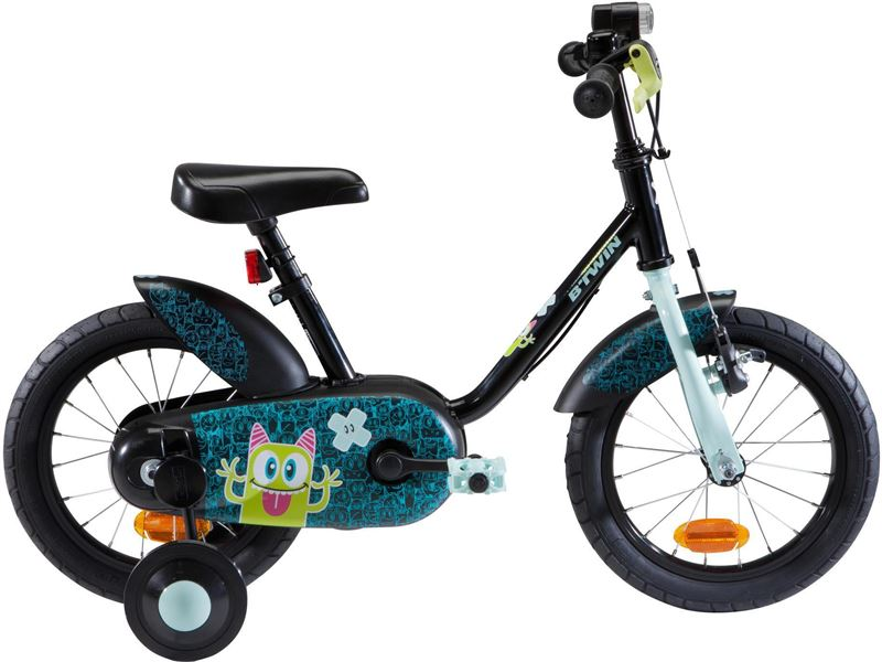 B'TWIN Kinderfiets 14 inch 3-5 jaar 500 Monsters